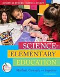 Science in Elementary Education Methods Concepts & Inquiries 11th Edition
