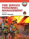 Fire Service Personnel Management [With Access Code]