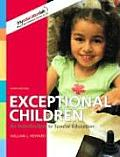 Exceptional Children: An Introduction to Special Education (Myeducationlab) Cover