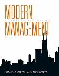 Modern Management: Concepts and Skills (Mymanagementlab)