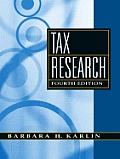 Tax Research (4TH 09 Edition)