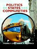 Politics in States and Communities (13TH 09 - Old Edition) Cover