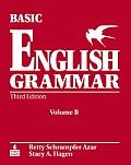 Basic English Grammar, Volume B [With Workbook]
