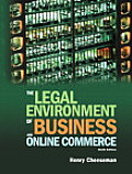 Legal Environment of Business & Online Commerce