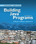 Building Java Programs: A Back to Basics Approach Cover