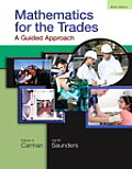 Mathematics for the Trades A Guided Approach 9th Edition
