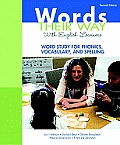 Words Their Way with English Learners: Word Study for Phonics, Vocabulary, and Spelling [With Access Code] (Words Their Way)