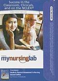 Health & Physical Assessment in Nursing MyNursingLab Access Code