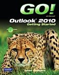 Go With Microsoft Outlook 2010... - With CD (12 Edition) Cover