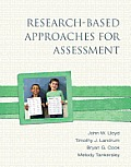 Research-based Approaches for Assessment (13 Edition)