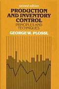 Production & Inventory Control Princ 2ND Edition