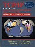 Internetworking With TCP/ip : Client-server Programming and Applications - Windows Sockets Version, Volume III (97 Edition)