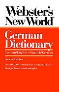 Websters New World German Dictionary German English English German