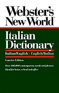 Websters New World Italian Dictionary Italian English English Italian