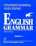Understanding and Using English Grammar, Volume a (3RD 99 - Old Edition) Cover