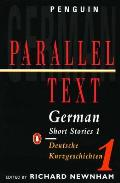German Short Stories 1: Parallel Text Edition