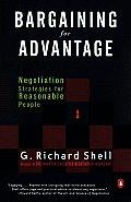 Bargaining For Advantage Negotiation Str