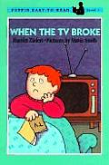 When the TV Broke (Puffin Easy-To-Read)