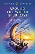 Around the World in Eighty Days (Puffin Classics) Cover