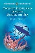 Twenty Thousand Leagues Under the Sea: Abridged Edition Cover