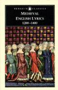 Medieval English Lyrics 1200 1400