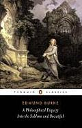 A Philosophical Enquiry...and Other Pre-revolutionary Writings (Penguin Classics) Cover