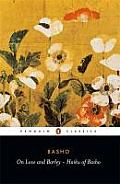 On Love and Barley Haiku of Basho Cover