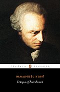 Critique of Pure Reason (Penguin Classics) Cover