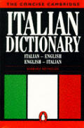 The Concise Cambridge Italian Dictionary