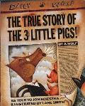 The True Story of the 3 Little Pigs Cover