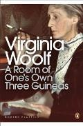 Modern Classics Room of One's Own and Three Guineas (00 Edition) Cover