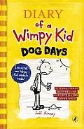 Dog Days. by Jeff Kinney Cover