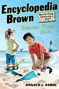 Encyclopedia Brown #08: Encyclopedia Brown Tracks Them Down Cover