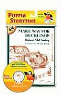 Make Way for Ducklings [With CD (Audio)] (Puffin Storytime) Cover