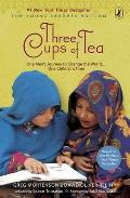 Three Cups of Tea: One Man's Journey to Change the World... One Child at a Time Cover