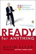 Ready for Anything: 52 Productivity Principles for Work and Life Cover