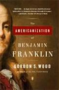 The Americanization of Benjamin Franklin Cover