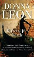 Dressed for Death (Commissario Guido Brunetti Mysteries) Cover