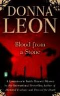 Blood from a Stone (Commissario Guido Brunetti Mysteries) Cover