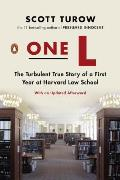 One L: The Turbulent True Story of a First Year at Harvard Law School Cover