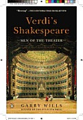 Verdi's Shakespeare: Men of the Theater Cover