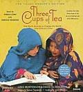 Three Cups of Tea - Audiobook CD's (4) (09 Edition) Cover