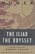 The Iliad/The Odyssey Set: Homer Cover