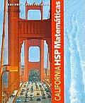 California HSP Matematicas
