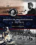 America in 20TH Century : a History (5TH 00 Edition)