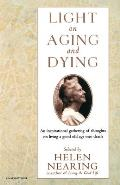 Light on Aging and Dying (Harvest Book) Cover