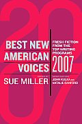 Best New American Voices 2007 (Best New American Voices) Cover