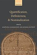 Quantification, Definiteness, and Nominalization