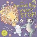 The Animal Bop Won't Stop. Book + Cd