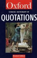 The Concise Oxford Dictionary of Quotations